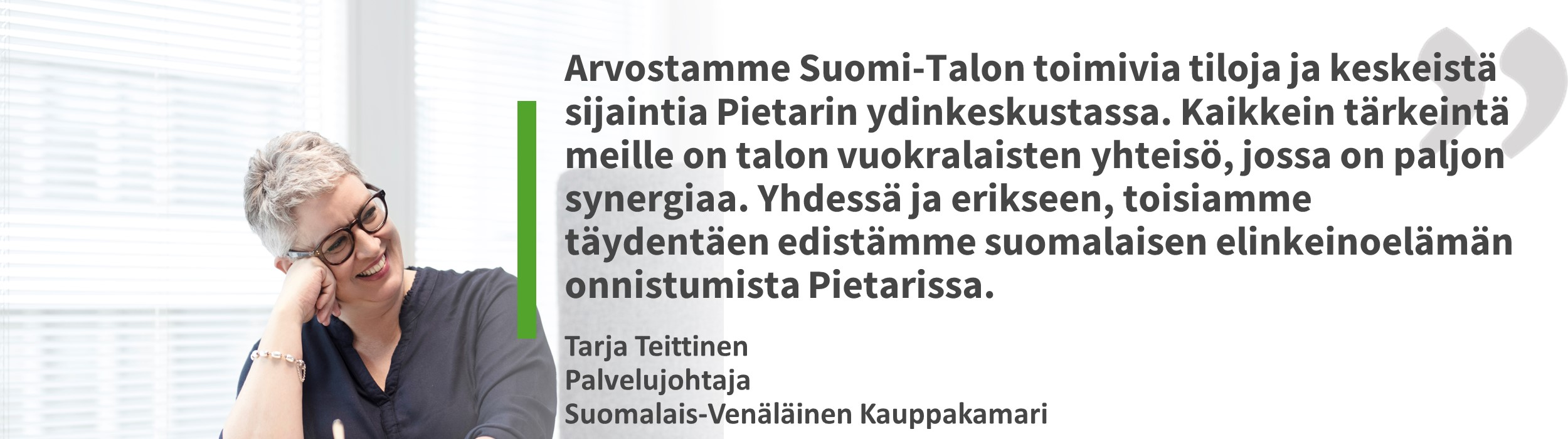 Tarja Teittinen, Suomalais-Venäläinen Kauppakamari